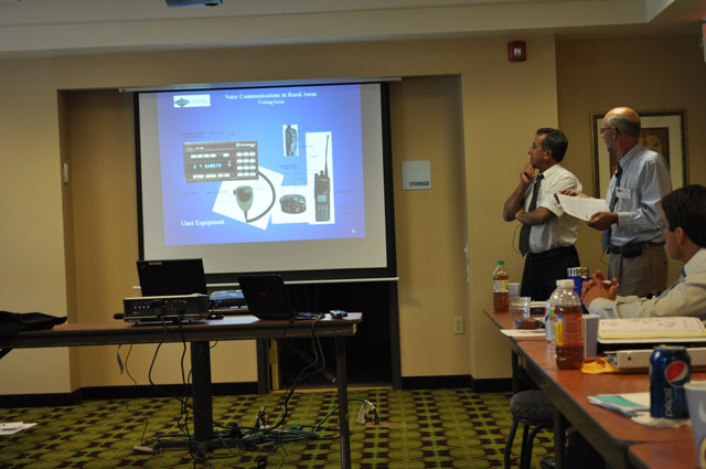 Javier del Rio and John Schmidt provide an overview of radio communication equipment.
